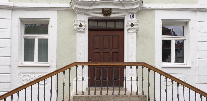Das Haus der Kaufmanns in der Karlsvorstadt